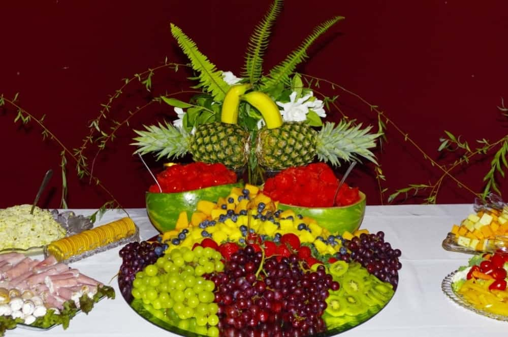 Wedding-Reception-Fruit-Table 2015