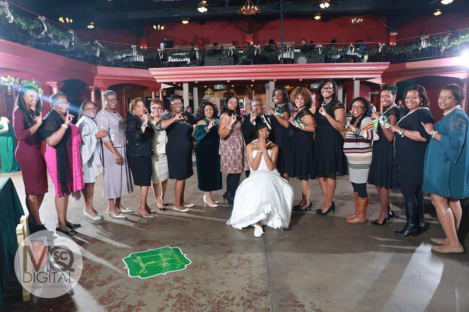 Bride & her family at Mariani's venue