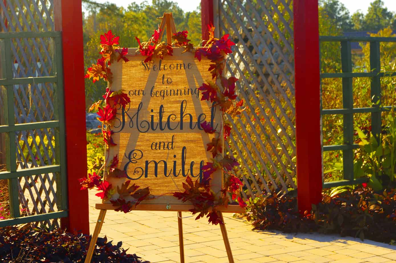welcome to wedding Ceremony site