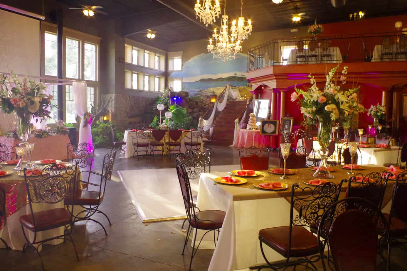 indoor reception decor